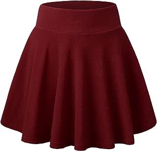 Best burgundy pleated mini skirt Reviews