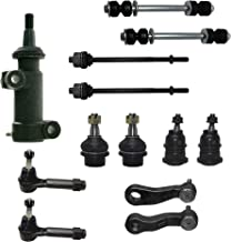 Sponsored Ad - Detroit Axle - 13pc Front Tie Rods Ball Joint Sway Bars Pitman Idler Arm for 99-07 GMC Sierra 1500 - [00-06...