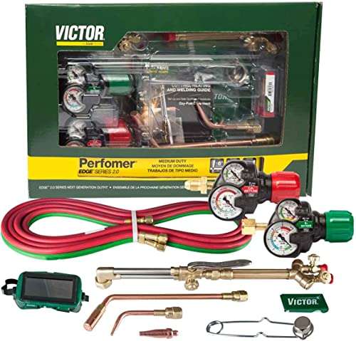popular VictorESAB outlet online sale Victor 0384-2125 Performer 2021 540/510 EDGE 2.0 Outfit outlet online sale