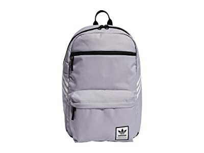 adidas Originals Originals National SST Recycled Backpack (Glory Grey/White) Backpack Bags