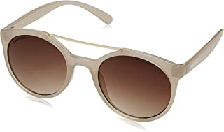 Fastrack UV Protected Round Women's Sunglasses - (C066BR2F 50 Brown Color)