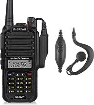 BaoFeng 1 Pack GT-3WP PoFung GT-3WP Dual Band Two-Way Radio, Waterproof Dustproof IP67 Walkie Talkie Transceiver, VHF/UHF 136-174/400-520MHz, Black