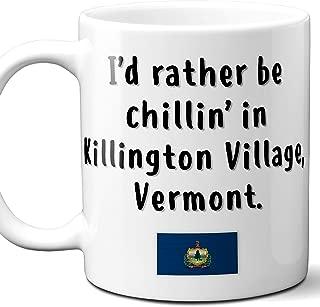 Killington Village Vermont Coffee Mug Souvenir Gift.