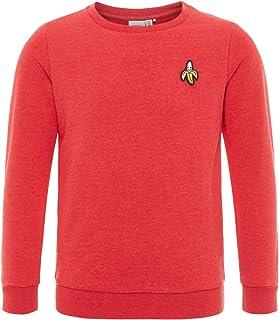 NAME IT Kinder Jungen Mädchen Unisex Pullover Sweatshirt Langarmshirt Baumwolle