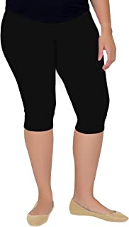 Stretch Is Comfort Women's Plus Size Knee Length Leggings