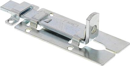 Burg-Wächter SR 80 SB, slotgrendel, deurgrendel voor vlakke deuren, verzinkt veiligheidsvoorziening voor hangslot, weerbes...