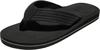 Best mens black flip flops Reviews