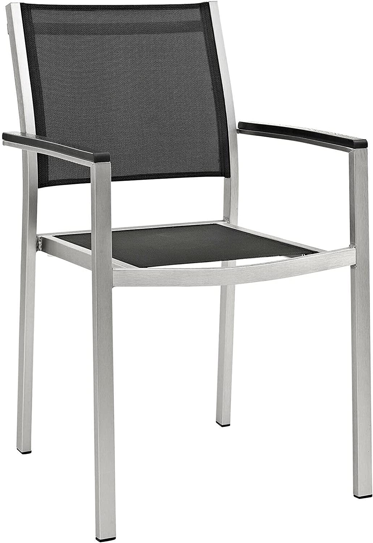HUIJK Outdoor Patio Furniture Aluminum OFFicial and Armchair Sales Mesh Dining