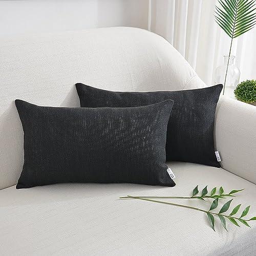 Wondrous Black Lumbar Pillow Amazon Com Short Links Chair Design For Home Short Linksinfo