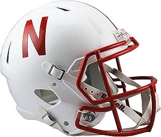 Sports Memorabilia Riddell Nebraska Cornhuskers Revolution Speed Full-Size Replica Football Helmet - College Replica Helmets