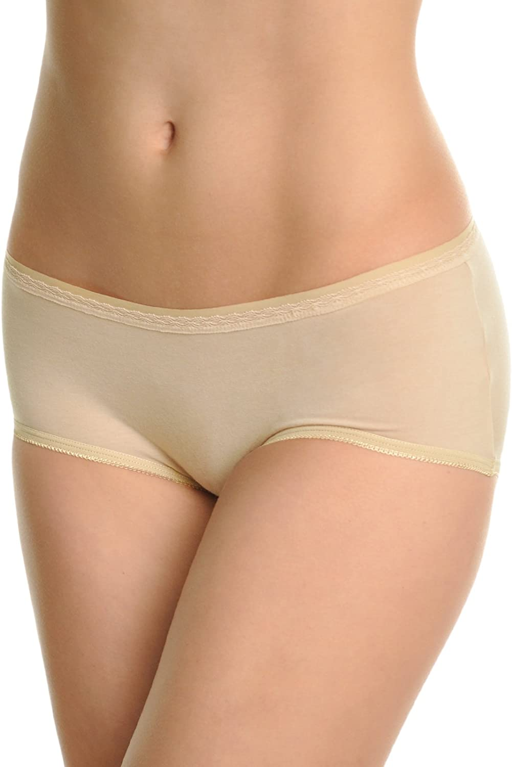 Angelina Direct List price store Women's Assorted Solid Color Cotton Bikini Pant Spandex