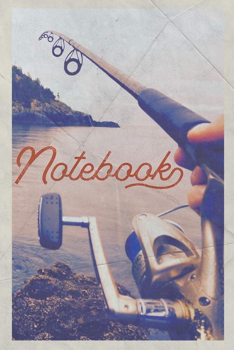 専門化する民主主義フローNotebook: Fishing Rod and Reel Combos Terrific Composition Book Journal Diary for Men, Women, Teen & Kids Vintage Retro Design for research on best rods for bass