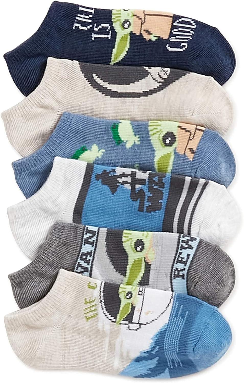 Star Wars The Mandalorian Boy's Socks, 6-Pack