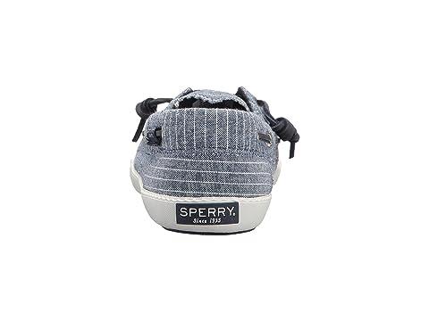 Sperry Pin WhiteGrey WhiteWhite Stripe Blue Away Black Sayel rqwFXEr
