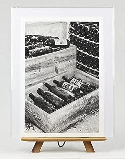 'Clos des Menuts, Saint Emilion' Wall Art, Wine Bottle Photograph, 8x12 Giclee Photographic Print on Archival Fine Art Paper, Unframed