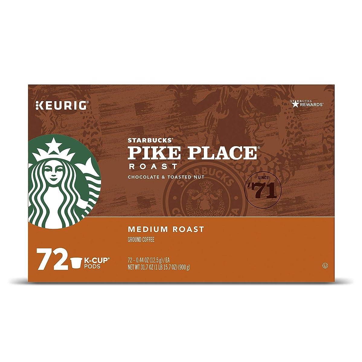 Starbucks Pike Place K-Cups (72 ct.) utwaqwqwcjs7