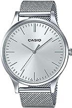 Casio Reloj Analogico para Unisex de Cuarzo con Correa en Acero Inoxidable LTP-E140D-7AEF