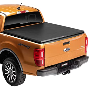 TruXedo TruXport Soft Roll Up Truck Bed Tonneau Cover | 255801 | fits 05-15 Toyota Tacoma 5' bed