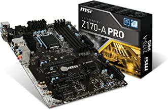 MSI Pro Solution Intel Z170A  LGA 1151 DDR4 USB 3.1 ATX Motherboard (Z170-A Pro)