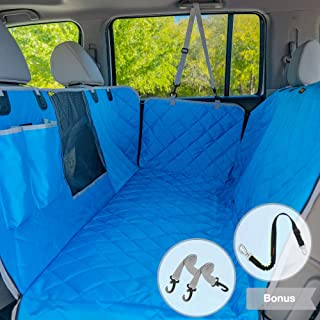iBuddy Dog Car Seat Covers for Back Seat of...