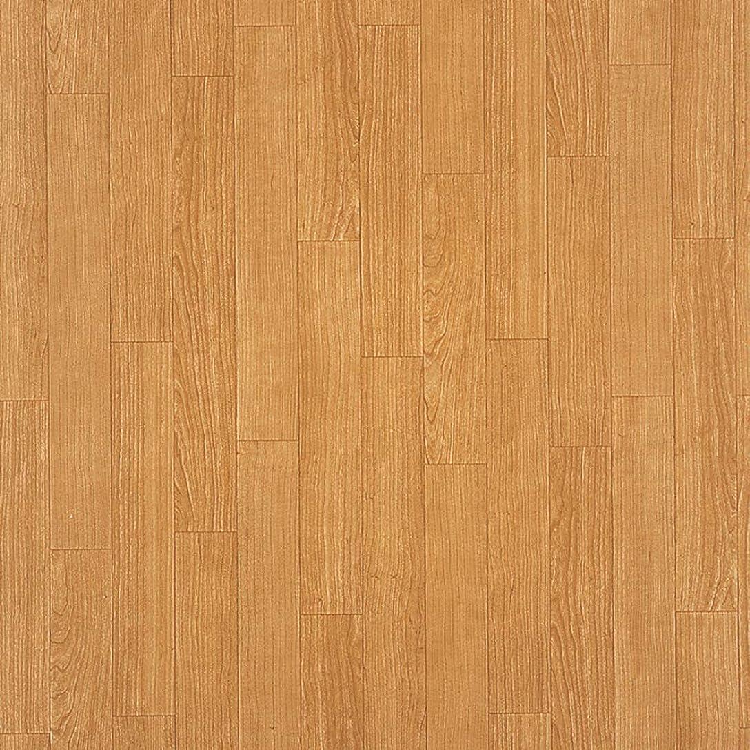 森白い明快サンゲツ クッションフロア DIY 消臭快適フロア (ペット対応) 木目?ウッド (チェリー) (長さ1m x 注文数) HW-4173