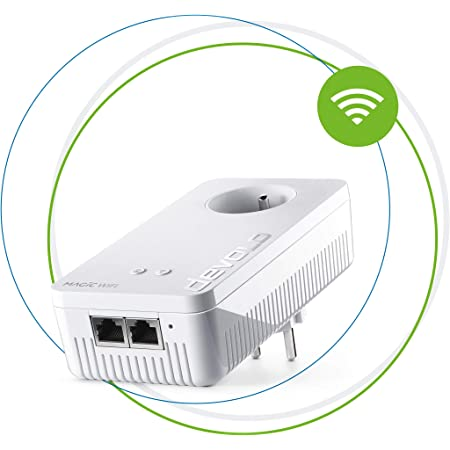 Devolo Magic 1 Wifi Mini Weiß Weiß 2400 Mbps Magic 2 Computer Zubehör