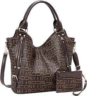 Damenhandtasche aus PU-Leder, Mode, Hobo-Schultertaschen mit verstellbarem Schultergurt