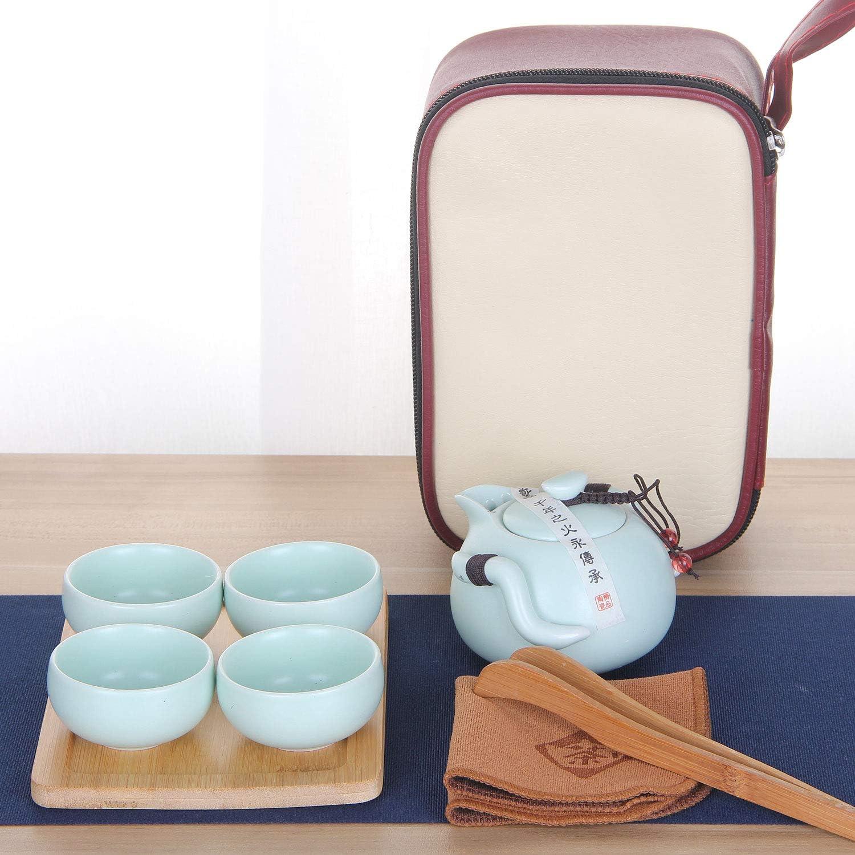 VanEnjoy Max 53% OFF Portable Kung Fu Tea Japane Chinese set Set latest