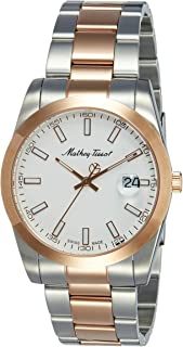 (Renewed) Mathey-Tissot Analog White Dial Mens Watch - H450RA