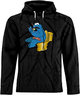 BSW Unisex Cookie Monster Cookie Dough Drugs Premium Hoodie
