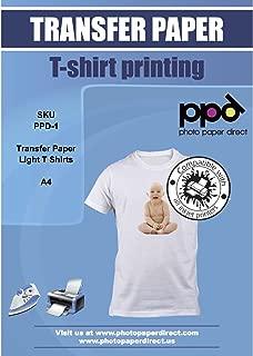 PPD Papel de Transferencia para impresión de inyección de