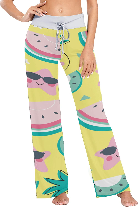 Ranking TOP16 ALALAL Pajamas Bottoms Black Summmer Wide Pant 40% OFF Cheap Sale Legged Sunglasses