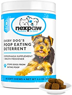 NEXPAW Stop Dogs from Eating Poop – Coprophagia Stool...
