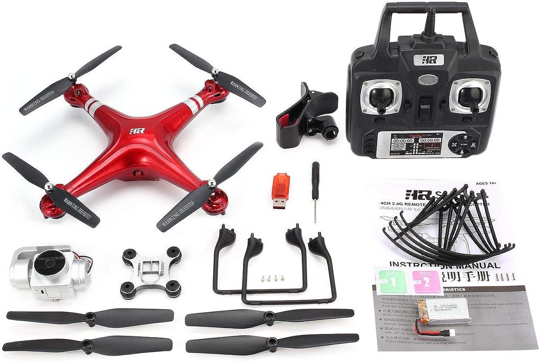 Pudincoco SH5HD 2.4G FPV Drone RC Quadricottero con 1080P Greangolare Regolabile HD Videotelecamera Live Video Altitude Hold modalità Senza Testa