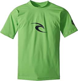 Rip Curl Kids Corpo Short Sleeve UV Tee (Big Kids)