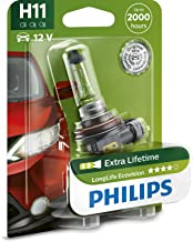 H11 Philips LongLife EcoVision Halogeen 12 V 55 W 4 x Life Mistlampen B1