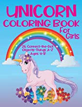 """Unicorn Coloring Book for Girls 4-8 