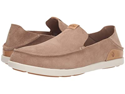 OluKai Nalukai Kala Slip-On (Sand/Bone) Men