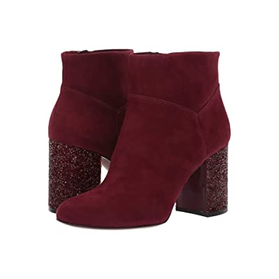 MICHAEL Michael Kors Cher Ankle Boot (Oxblood) Women
