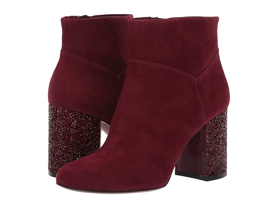 MICHAEL Michael Kors Cher Ankle Boot (Oxblood) Women