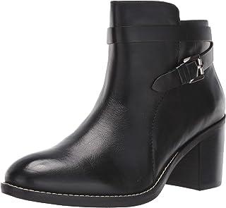 Hush Puppies Stiefelette 36 37 KunstLEDER Schwarz Black Boots Schuh Weite G NEU