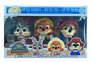 Funko Disney Parks Exclusive Pop Splash Mountain 3-Pack Br'er Rabbit, Fox, and Bear