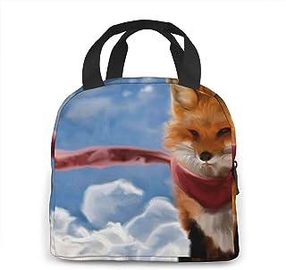 N\A Boîte de Rangement Fox Lunchbox pour Femmes/Hommes, Enfants, Travail, école, Pique-Nique, Sac à bento pour déjeuner de...