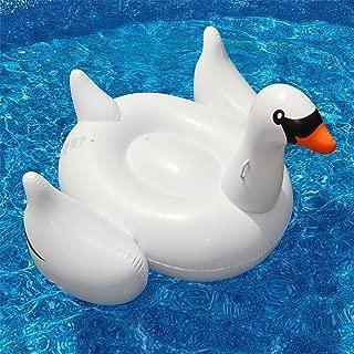 アメリカ からやってきた 大きな 浮き輪 直径 150cm 大人子供兼用 ドーナツフロート(白鳥)