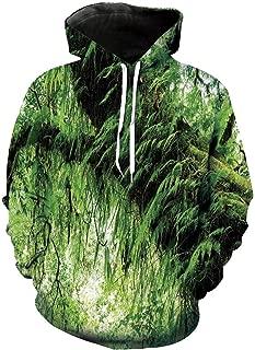 Unisex Hoodie 3D Print Flower Colorful Classic Sherpa Lined Fleece Sweatshirt Size XS