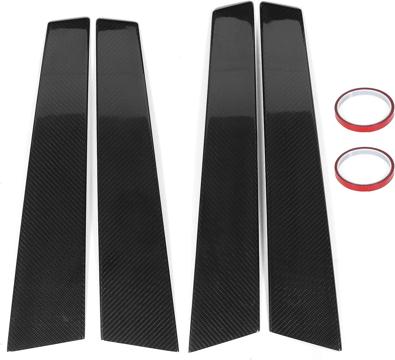 Door Pillar famous Decor 4pcs Our shop OFFers the best service Dry Carbon Dec Panel Fiber B