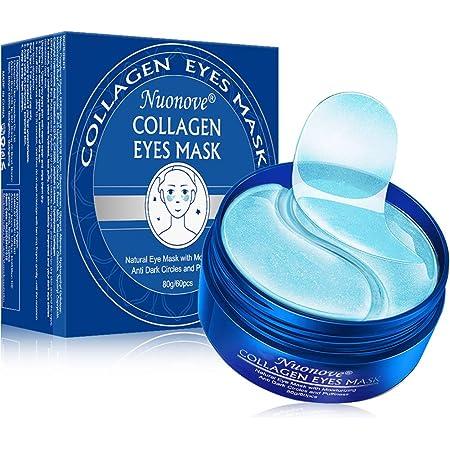 Eye Mask, Maschera per gli occhi, Eye Patch, Occhi Pads, Maschera d'occhio del collagene, Maschere Eye Gel Patches - Idratante, anti-rughe, anti-età, cerchi scuri ed elimina tasche, 60 Patches