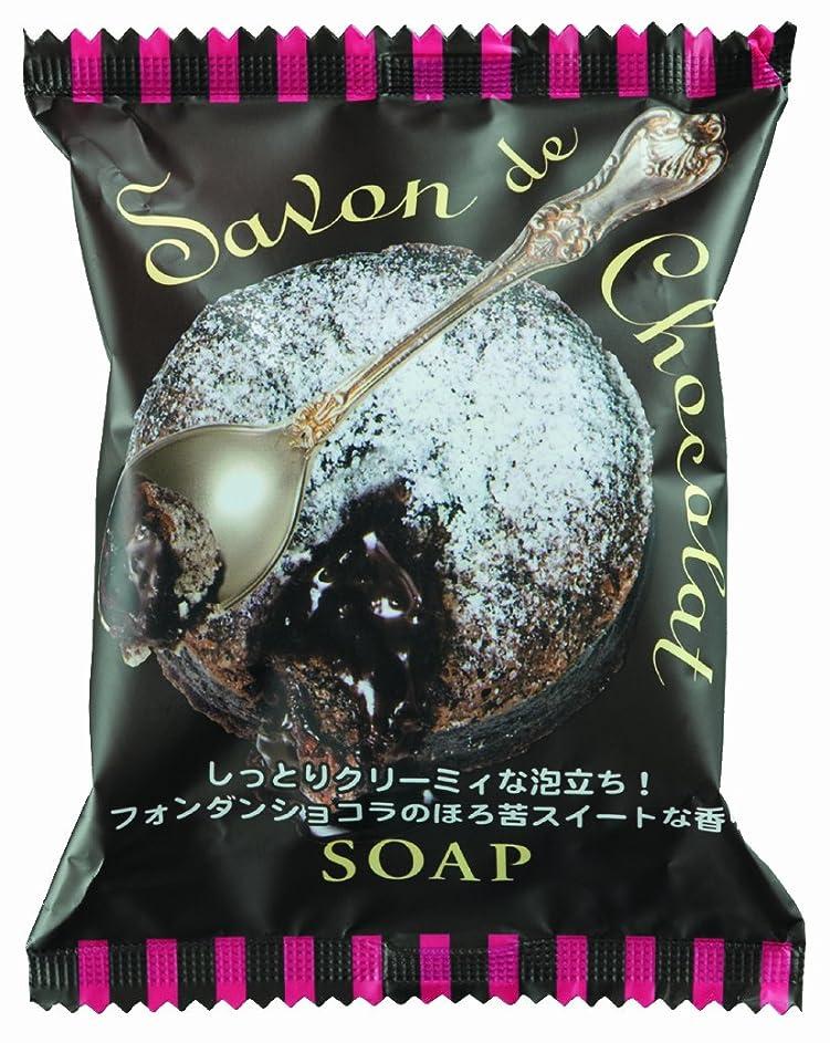 火山学締め切り談話ペリカン石鹸 サボンドショコラソープ 80g