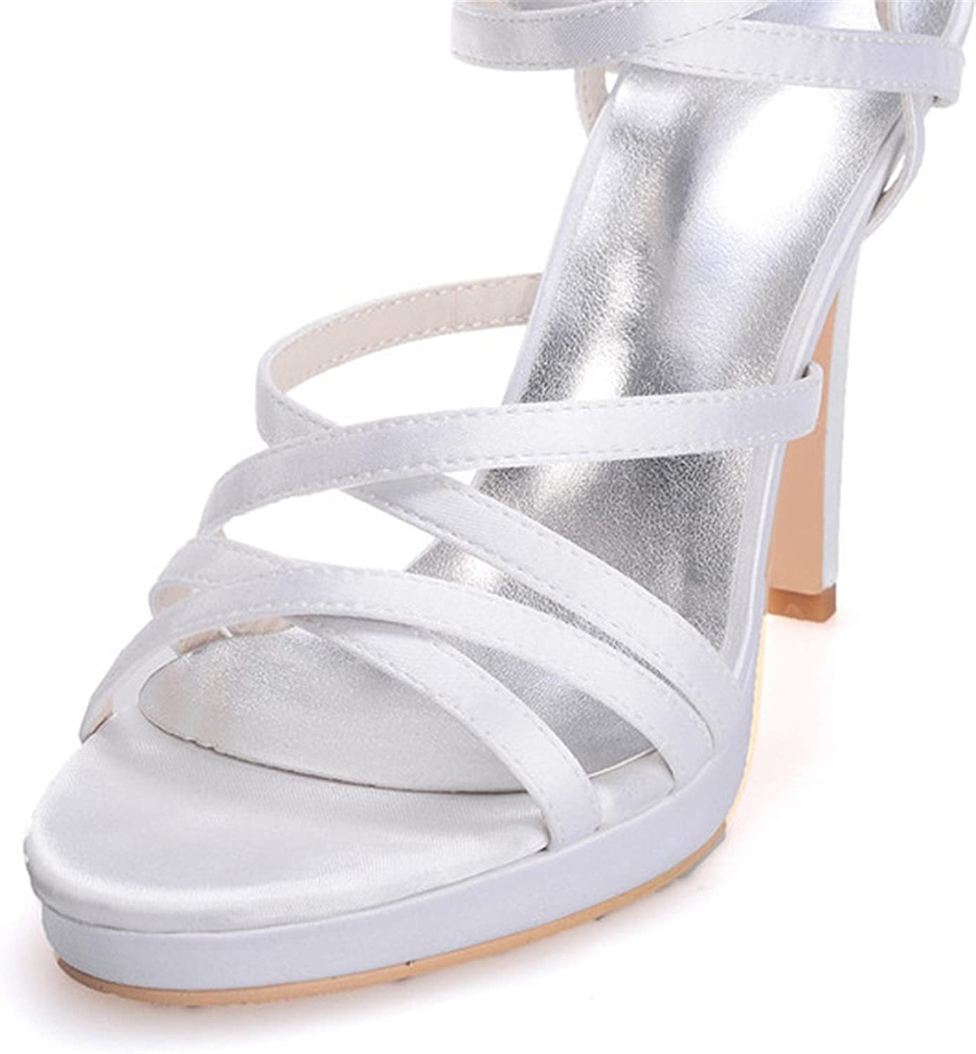 Uryouthstyle Platform High Heel Sandals Women's Stiletto Party Prom shoes