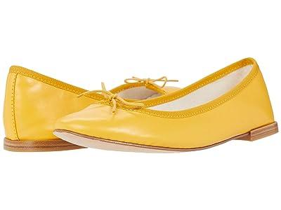 Repetto Cendrillon (Ambre Yellow Lambskin) Women